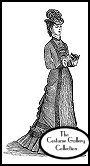 Subscribers click on this image for  a Ladies' Walking Dress enlargement