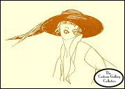 Click here for Jane Blanchot's hat enlargement and description