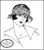 Subscribers click on the milliner Germaine's image for enlargement & description