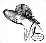 Click here for Jane Blanchot's hat enlargement and description