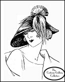Click here for Marie Crozet's hat enlargement and description