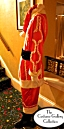 Santa Claus Costume: Side View: Full Length