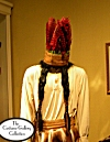 Joe Cain as Chief Slacabamorina costume: Front View: Full Length