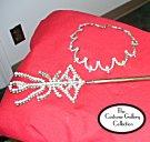 Queen Necklace Earrings & Scepter