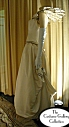 Queen's Coronation Gown: Side View: Full Length