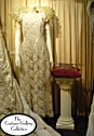 Queen's Coronation Gown: Front View: Full Length