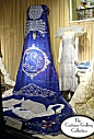 Queen's Coronation Regalia: Front View: Full Length