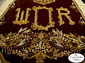 King's Coronation Robe: Train Monogram