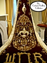 King's Coronation Robe: Train Embellishmnets