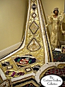 Queen's Coronation Robes: Front View: Full Length
