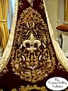 King's Coronation Robe: Train Fleur de Lis