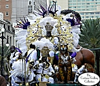 2011 King Zulu in Court Costume Close-up