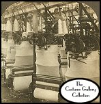 Leicester, England: Knitting Machines at Work in the Wolsey Woolen Factory. Subscribers click on image for enlargement