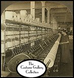 Lawrence, Massachusetts: Doubling Frame in a Large Woolen Mill. Subscribers click on image for enlargement