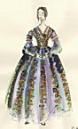 click for enlargement of Queen Victoria's Day Dress